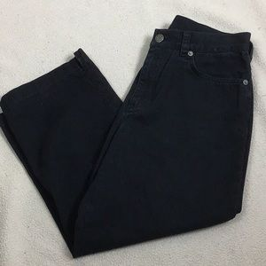 Ralph Lauren Black Capri Size 6